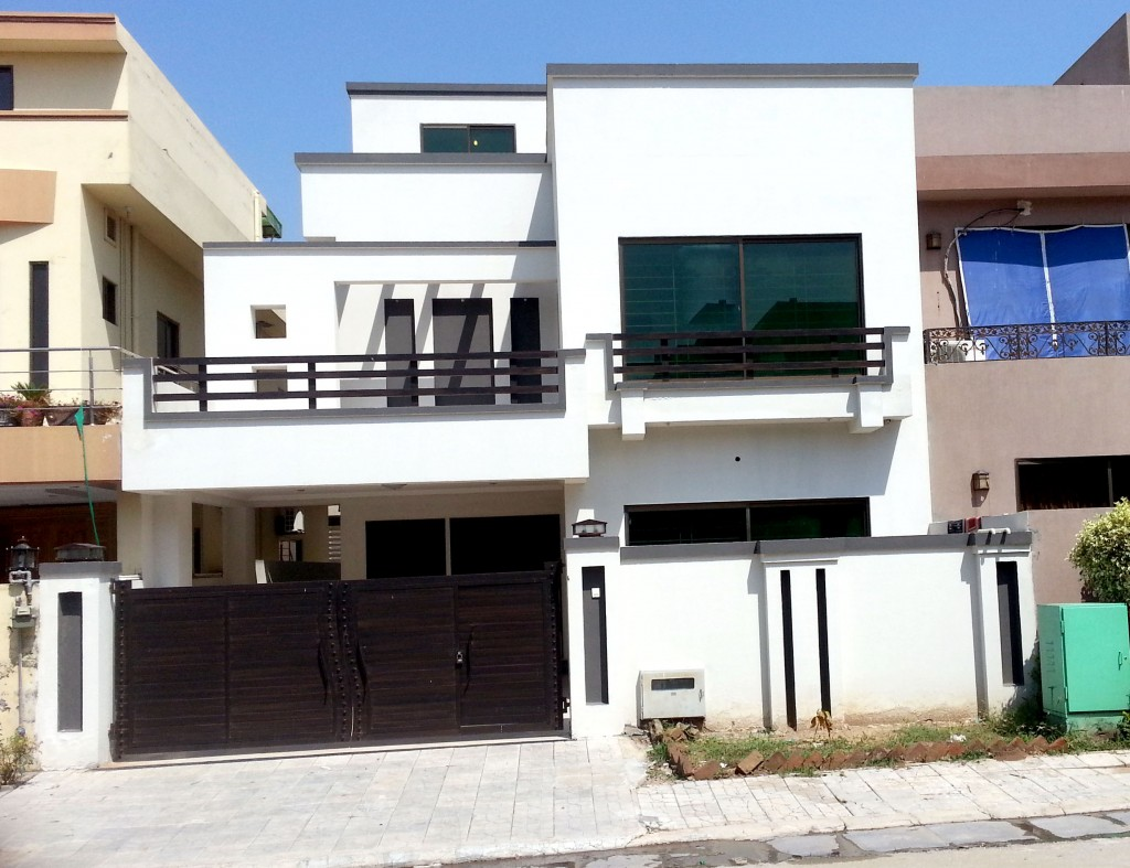 Modern residence islamabad home designs 10 marla house homes - Property In Pakistan